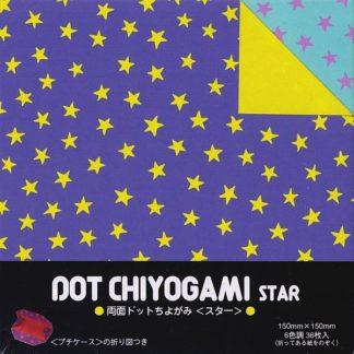 Origami Papier Set Sternen Punkte