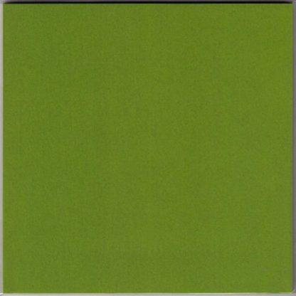 Einfarbiges Origami Papier Olivgelb 30 Blätter
