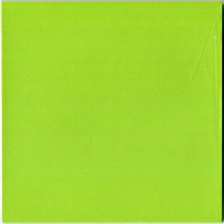 Einfarbiges Origami Papier Set Gelbgruen