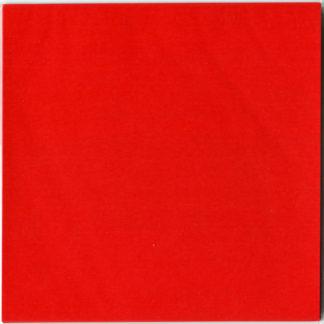 Einfarbiges Origami Papier Set rot 30 Blätter