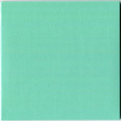 Einfarbiges Origami Papier Türkis 30 Blätter