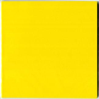 Einfarbiges Origami Papier Set gelb 30 Blätter