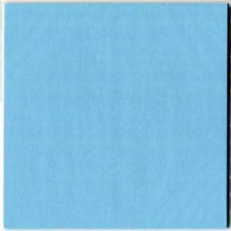 Einfarbiges Origami Papier Set hellblau 30 Blätter