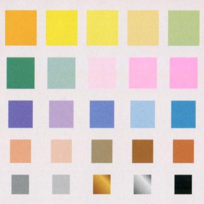 Origami Papier Set 50 Farben Farbenmuster