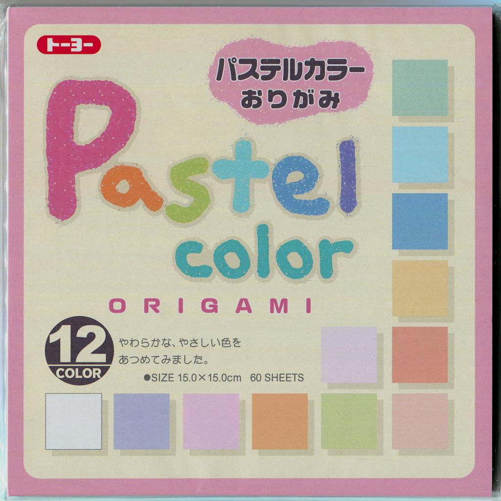Pastel Farben Origami Papier Set