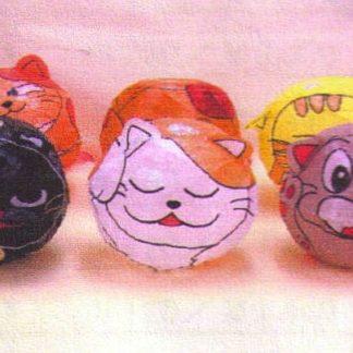 Papier Ballon Katzen