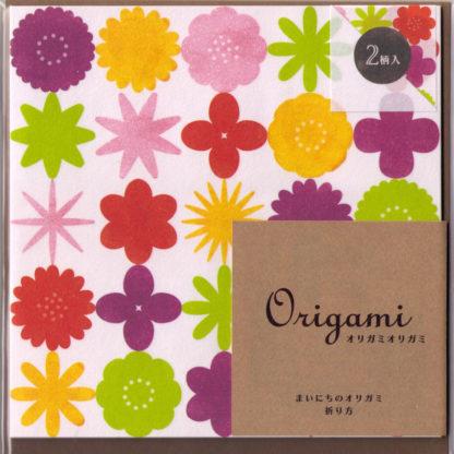 Flower Origami Papier Set