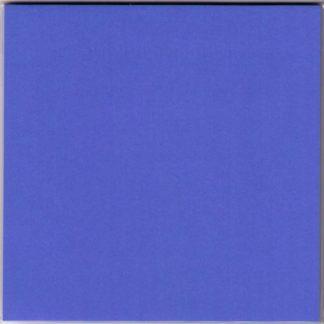Einfarbiges Origami Papier Set Kobaltblau 30 Blätter