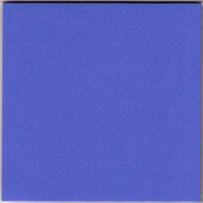Einfarbiges Origami Papier Kobaltblau