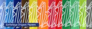 12 Einfarbige Origami Papier Sets 100 Blätter