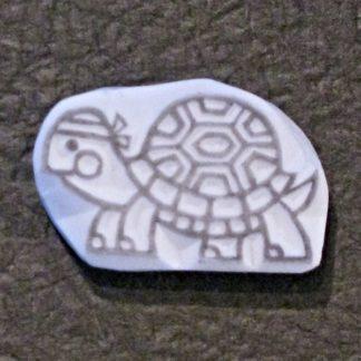 Motivstempel Schildkröte