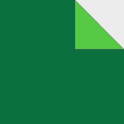 Origami Papier zweiseitig dunkelgrün gelbgrün