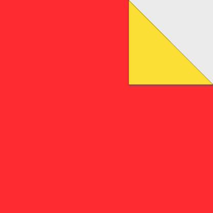 Origami Papier zweiseitig rot dunkelgelb
