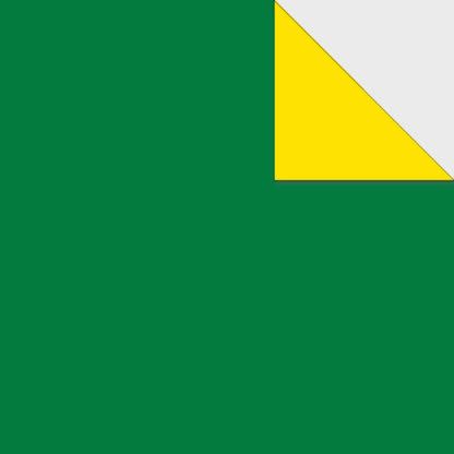 Origami Papier zweiseitig gruen gelb
