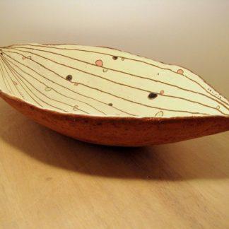 Ovale Schale