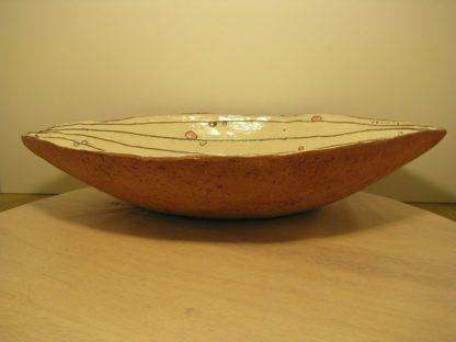 Ovale Keramikschale