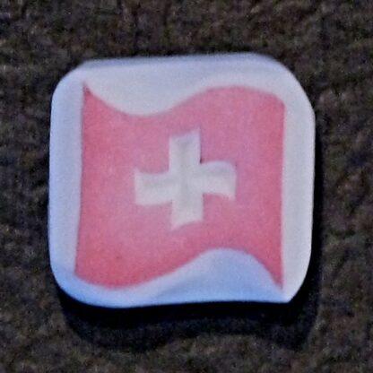 Stempel Schweizer Flagge 01