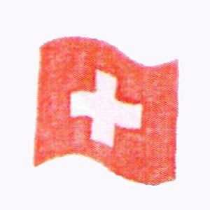 Stempel Schweizer Flagge