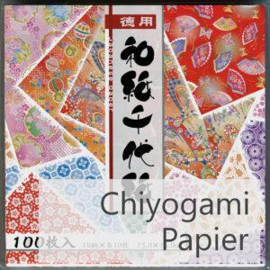 Titelbild Chiyogami Papier