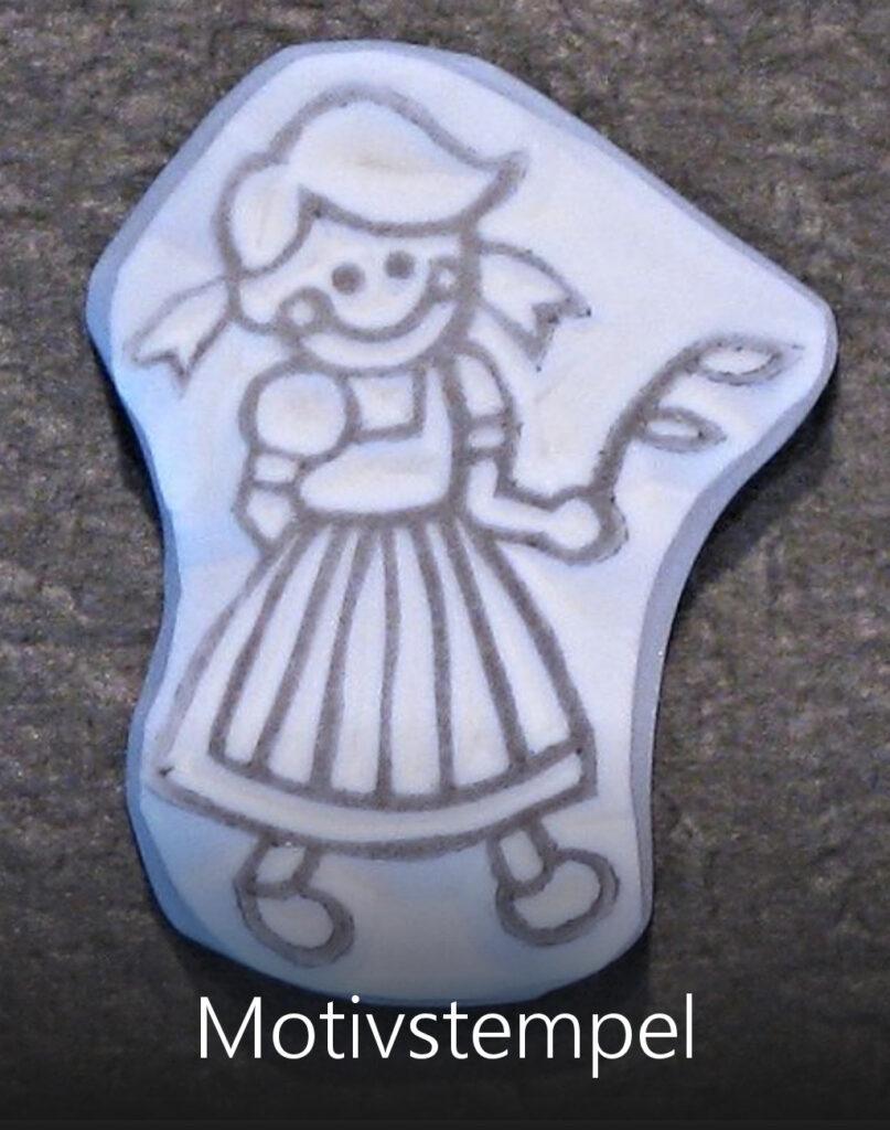 Titelbild Motivstempel Heidi