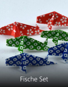 Titelbild Origami Deko Fische