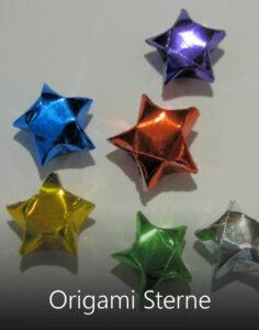 Titelbild Origami Sterne